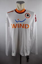 As rome Away Maillot taille xxl FOOTBALL JERSEY KAPPA player shirt maglia 2012 roma