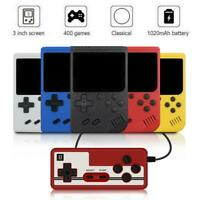 Mini Retro Handheld Game Console System 400 Games In Built Portable