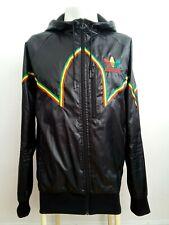 Adidas Rasta Jamaica Bright Rare Retro Vintage Hoodie Windbreaker Jacket M
