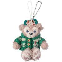 Disney Xmas Duffy 2015 Shelliemay Plush Phone Charm Keychain Tokyo Sea 2015 Gift