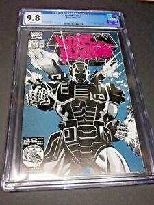 Iron Man #282 | CGC 9.8 NM/MT | 1st Full Appearance of War Machine Hot Hot Hot