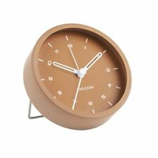 Karlsson TINGE ALARM CLOCK Caramel BROWN Silent Sweep