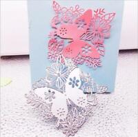 Butterfly Metal Cutting Dies Photo Scrapbooking Embossing Stencils Decoration