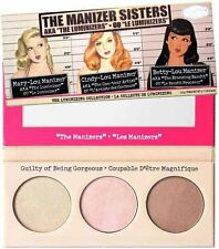 Manizer Sisters Mary Cindy Betty Lou Palette Makeup Cosmetics Highlight Blushers