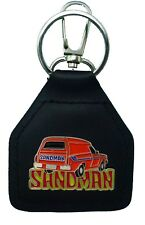 Orange Holden Sandman Panel Van....Quality Leather Keyring