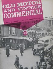 Old Motor and Vintage Commercial magazine November 1963