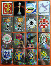 Panini WM WC World Cup 2011 - 16 Wappen/Glitzer
