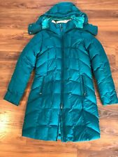 Eddie Bauer Womens Down Parka Jacket Quilted, Small