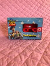 VINTAGE RARE 1995 DISNEY'S TOY STORY TYCO VIEW-MASTER GIFT SET 3D VIEWER 3 REELS