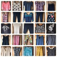 Womans Size Small Clothing Lot 26 Items Dresses, Leggings, Shirts, & More!