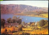 Scotland Loch Ness from above Dores Village Inverness-shire - posted 1974