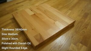 Bespoke Beech Chopping Boards, Cheese Boards and Table Tops. 40mm Thickness.