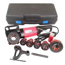 "2000W 1/2"" - 2 "" Electric Pipe Threader Threading Machine W/ 6 Dies Portable"