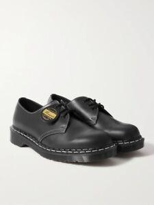 Dr Martens 1461 Horween Cavalier Leather Derby Shoes Black UK 9 RRP £220 New
