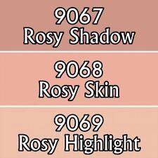 Reaper Master Series Acrylic Paint Triad 09723 Rosy Skintones