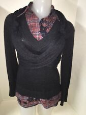 E K Eva Kayan Shirt Sweater Women`s Size 38 M