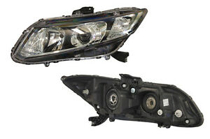 Honda Civic FB  4/2012 - Onwards  Projector Headlight Left side - New