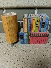 Vintage 1962 Mattel Barbie Dream House Cardboard Furniture Books and Lamp