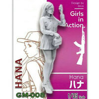 1/35 Hana Girls in Action Resin Model Kits Unpainted GK Unassembled