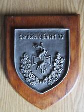 Andenken Wappen Sanitätsregiment 72 vom Sanitätszentrum 201 Braunschweig