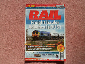 RAIL Issue 629 - Cambrian signalling (incERTMS) + WAG express + Leicester Burton