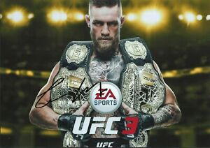 Conor McGregor Autographed signed photo