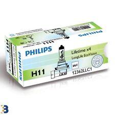 Philips H11 LONGLIFE ECOVISION 711 Faro Bombilla 12362 llecoc 1 sola