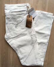 Guess Foxy White  Skinny Low Rise Slim Fit Beaded Pocket Embellished Jeans W29