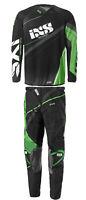 Combo Jersey Pants IXS premium | Man & Woman Motocross Gear MX ATV Black - Green