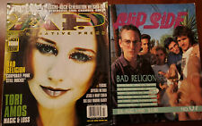 Bad Religion Magazines Flipside 67 July 90 Alternative Press 120 1998 Tori Amos