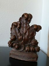 Old Wooden Bookend