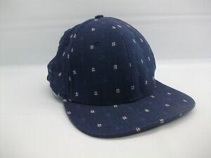 Hashtag Hash Tag # Hat Blue Strapback Baseball Cap