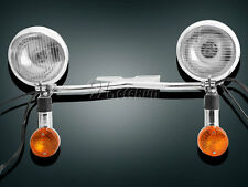 Passing Turn Signals Light Bar For Kawasaki Vulcan VN 800 900 1500 1600 1700
