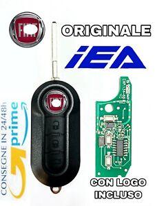 Chiave Completa Chip elettronica COMPATIBILE PER FIAT Punto + Fresatura lama