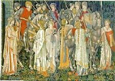 Medieval Knight Tapestry The Quest for the Holy Grail