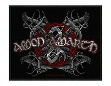 AMON AMARTH viking dog 2010 - WOVEN SEW ON PATCH official merchandise