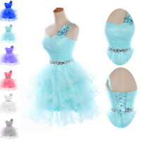 Girl Short Prom dresses Bridesmaid Cocktail Wedding Formal Evening Party Dress