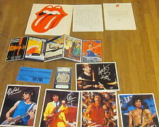 ROLLING STONES 20th Anniversary Kit '83 Fan Club PROMO ONLY