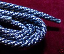 "Bolo Cord 36"" LIGHT BLUE & NAVY (pk 12) 827 Plasticized Tip"