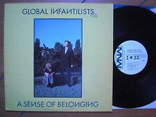 Global Infantilists - A Sense Of Belonging, VInyl, LP, Sweden'83, vg++