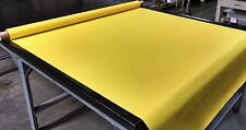BRIGHT YELLOW BIMINI TOP BOAT COVER UV OUTDOOR COATED MARINE CANVAS FABRIC DWR
