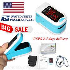 US portable LED Fingertip Pulse Oximeter, oxygen Spo2 Monitor,Carry Case,Lanyard