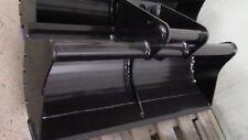 Minibaggerlöffel Grabenschaufel  900mm für 30mm Bolzen oder MS01 Tieflöffel