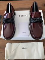 CÉLINE KNOT POLISHED LOAFERS SLIPPERS HALBSCHUHE COLLEGE SCHUHE SHOES FLATS 37