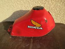 Ancien réservoir moto honda vieille moto peinture d'origine des années