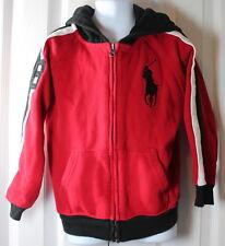 Polo Ralph Lauren Boys 6 Zipper Hoodie Jacket w Pony