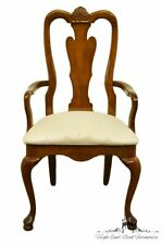 American Drew Cherry Grove Collection Queen Anne Style Dining Arm Chair w. Fa.