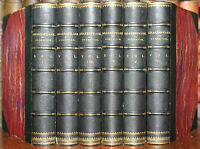 1860 The Works of William SHAKESPEARE Ed Staunton 6 Vols Fine Binding by Mudie