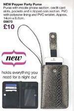 Avon.PHONE-HOLDER party-wallet+Zip.WRIST-STRAP.Snake-effect.HOLIDAY?Bargain5.99p