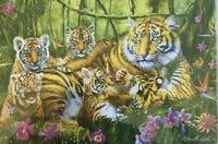 Trefl Tiger & Cubs Jungle Quality Jigsaw Puzzle 500 Pieces **Fast Dispatch**